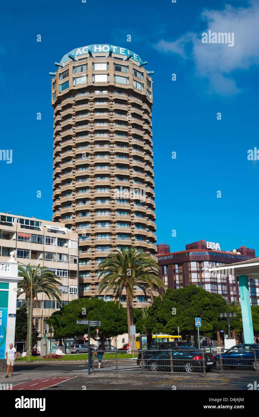 Ac Hotel Gran Canaria Marriott Ist Ein Wahrzeichen Am Parque Santa