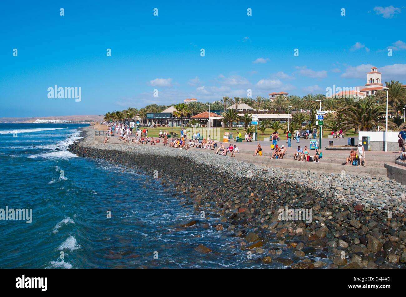 Maspalomas Resort Gran Canaria Insel der Kanarischen Inseln-Spanien-Europa Stockbild
