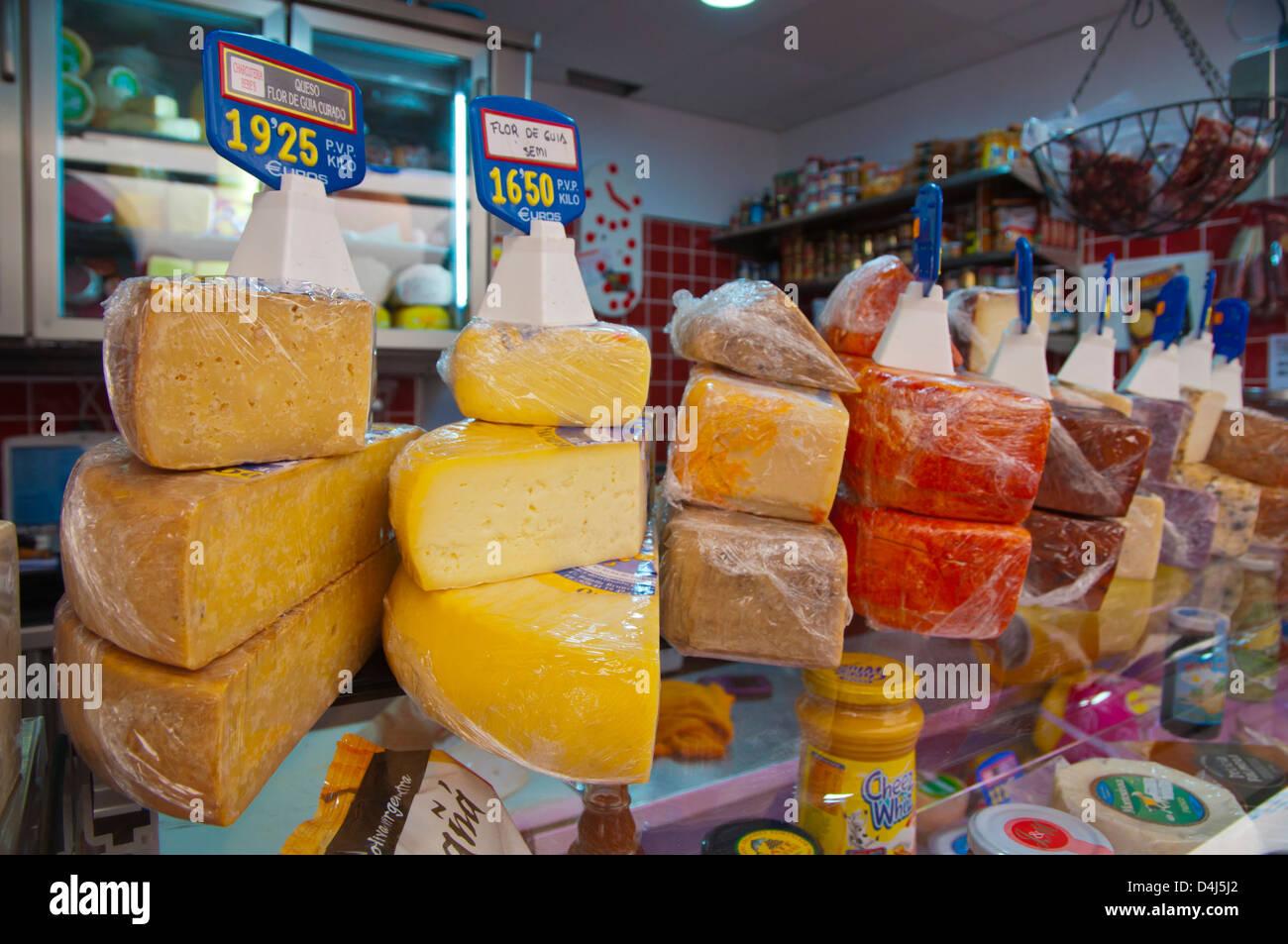 Mercado Nuestra Senora de Africa Marktplatz Santa Cruz Stadt Teneriffa Insel Kanaren Spanien Stockbild