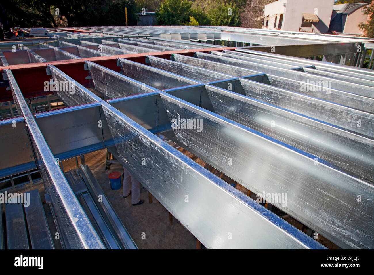 Steel Framing Stockfotos & Steel Framing Bilder - Alamy