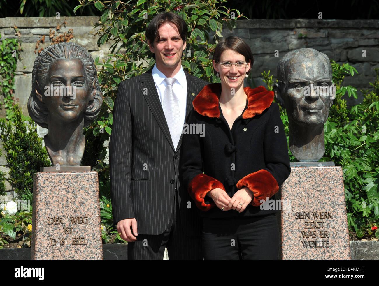 Grafin Bettina Bernadotte Und Ihr Bruder Bjorn Graf Bernadotte