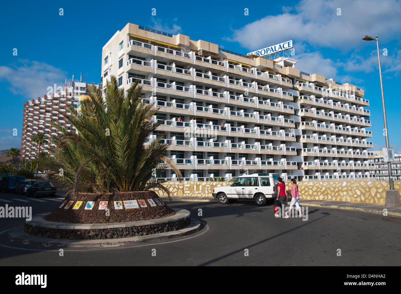 Europalace Hotel Playa del Ingles resort Gran Canaria Insel der Kanarischen Inseln-Spanien-Europa Stockbild