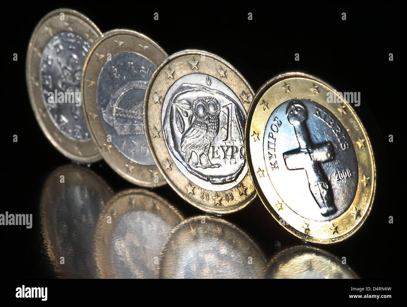 Abbildung Eine Abbildung Vom 18 März 2013 Zeigt Eine Zypriotische