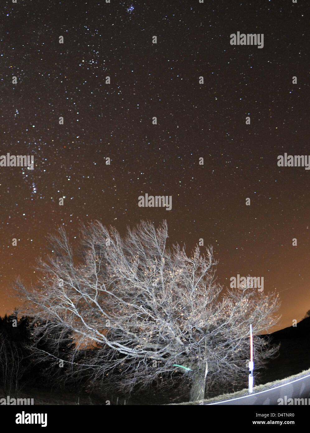 Der Sternenhimmel Abgebildet Aus Dem Schauinsland Ins Land