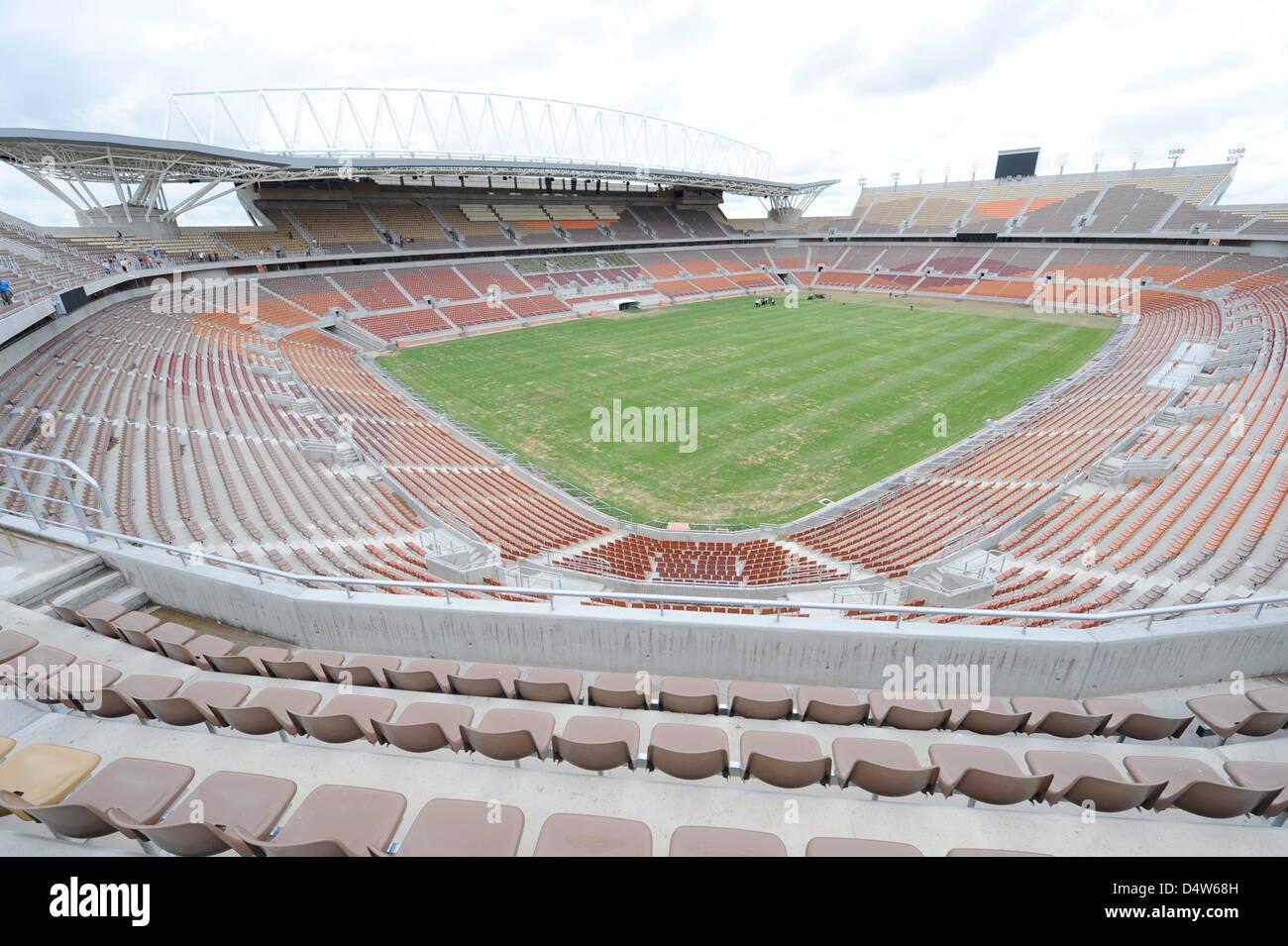Das Peter Mokaba Stadion In Polokwane Südafrika 11 Dezember 2009
