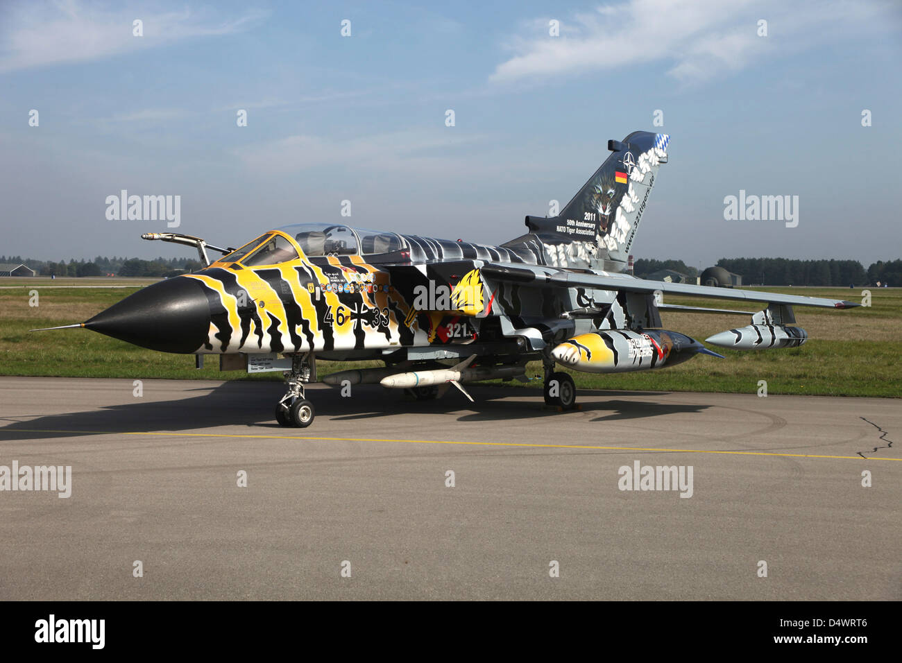 German Tornado Ecr Aircraft Stockfotos & German Tornado ...