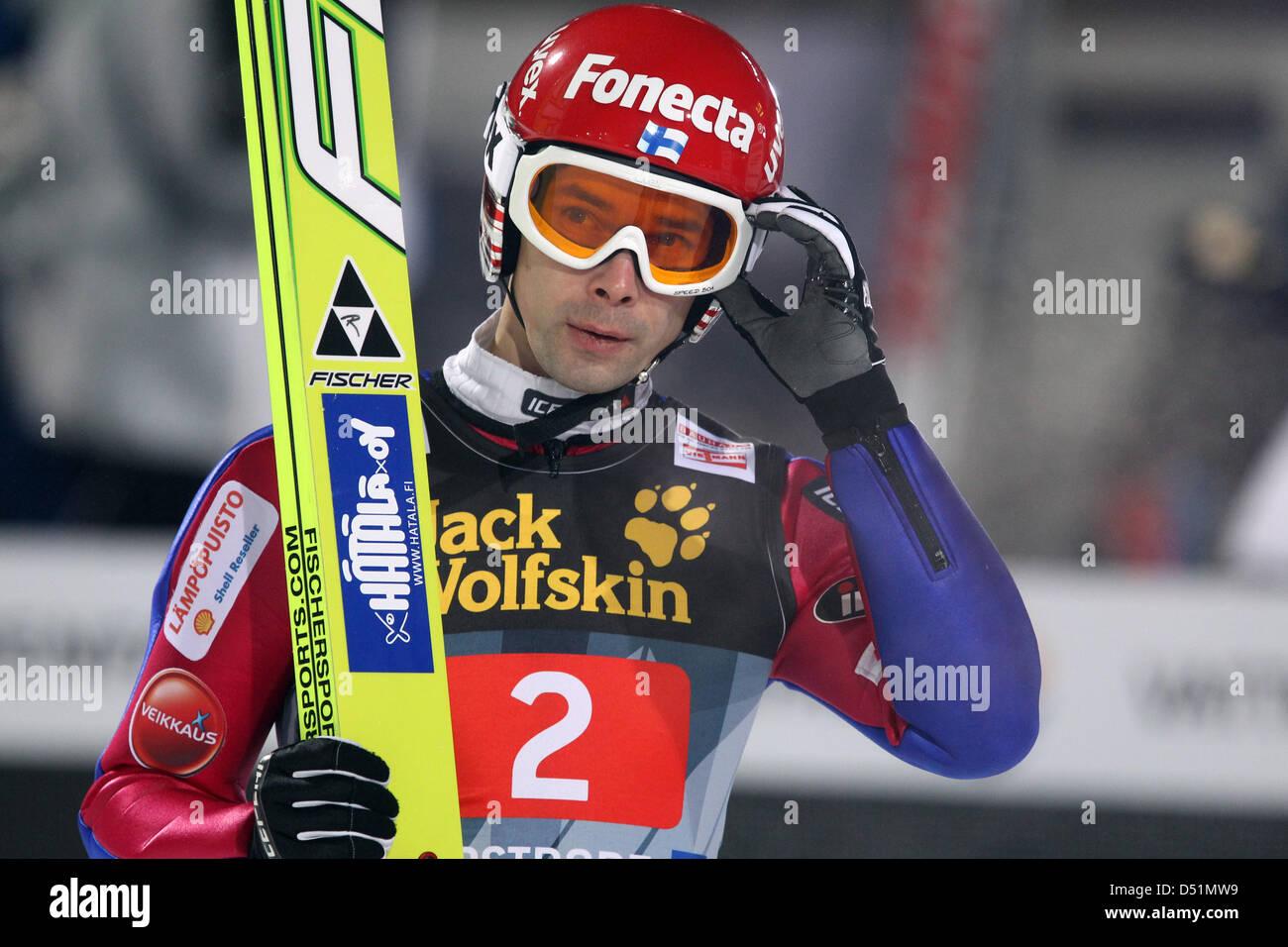 Finnische Skispringer