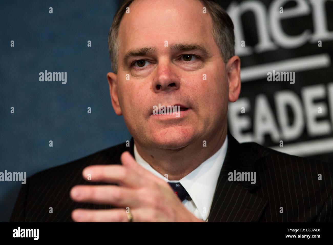 Nick Akins, Präsident und CEO von American Electric Power. Stockbild