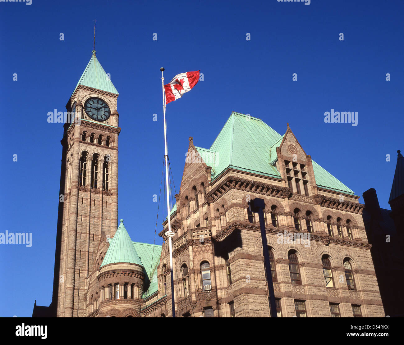 Der Centre Block (Édifice du Centre), Parliament Hill, Ottawa, National Capital Region, Provinz Ontario, Kanada Stockbild