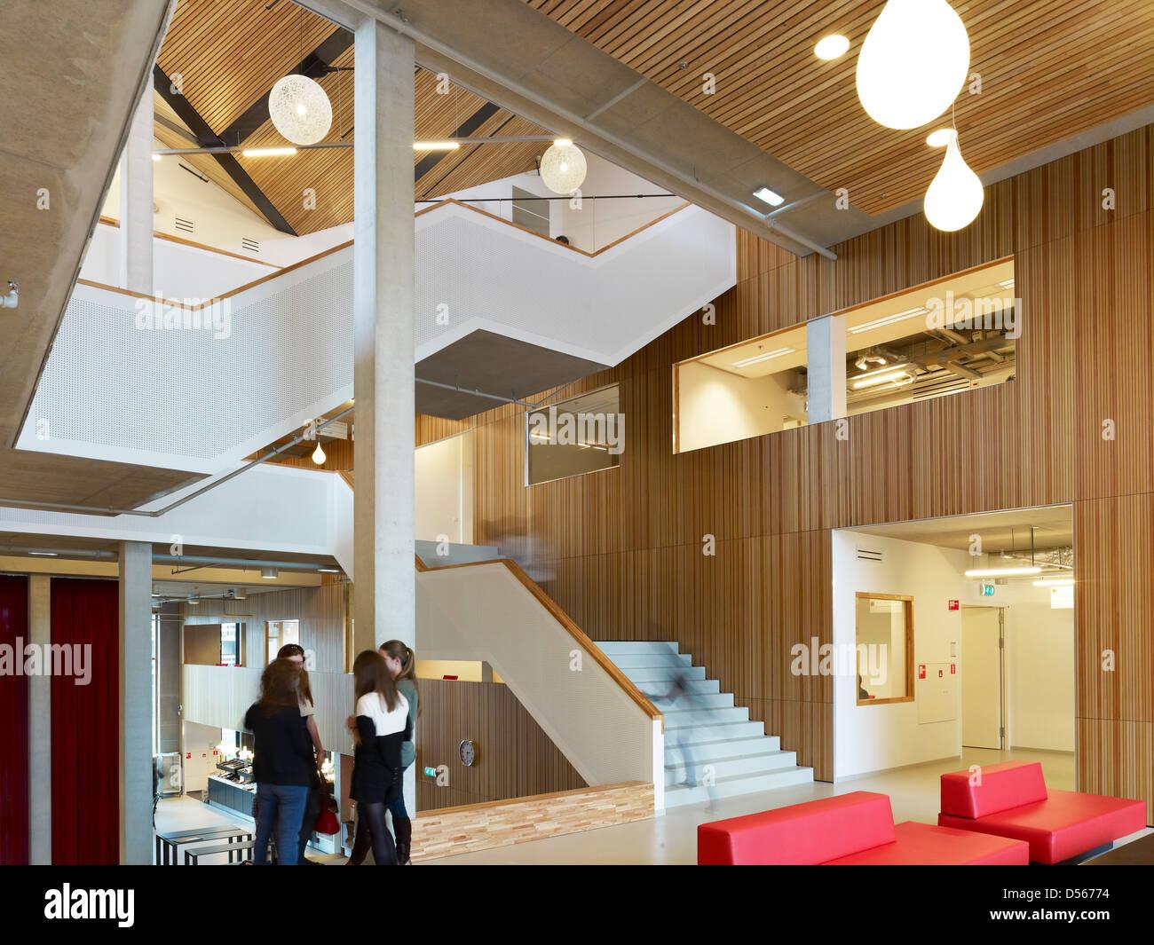 Amsterdam University College In Amstderdam Niederlande Architekt
