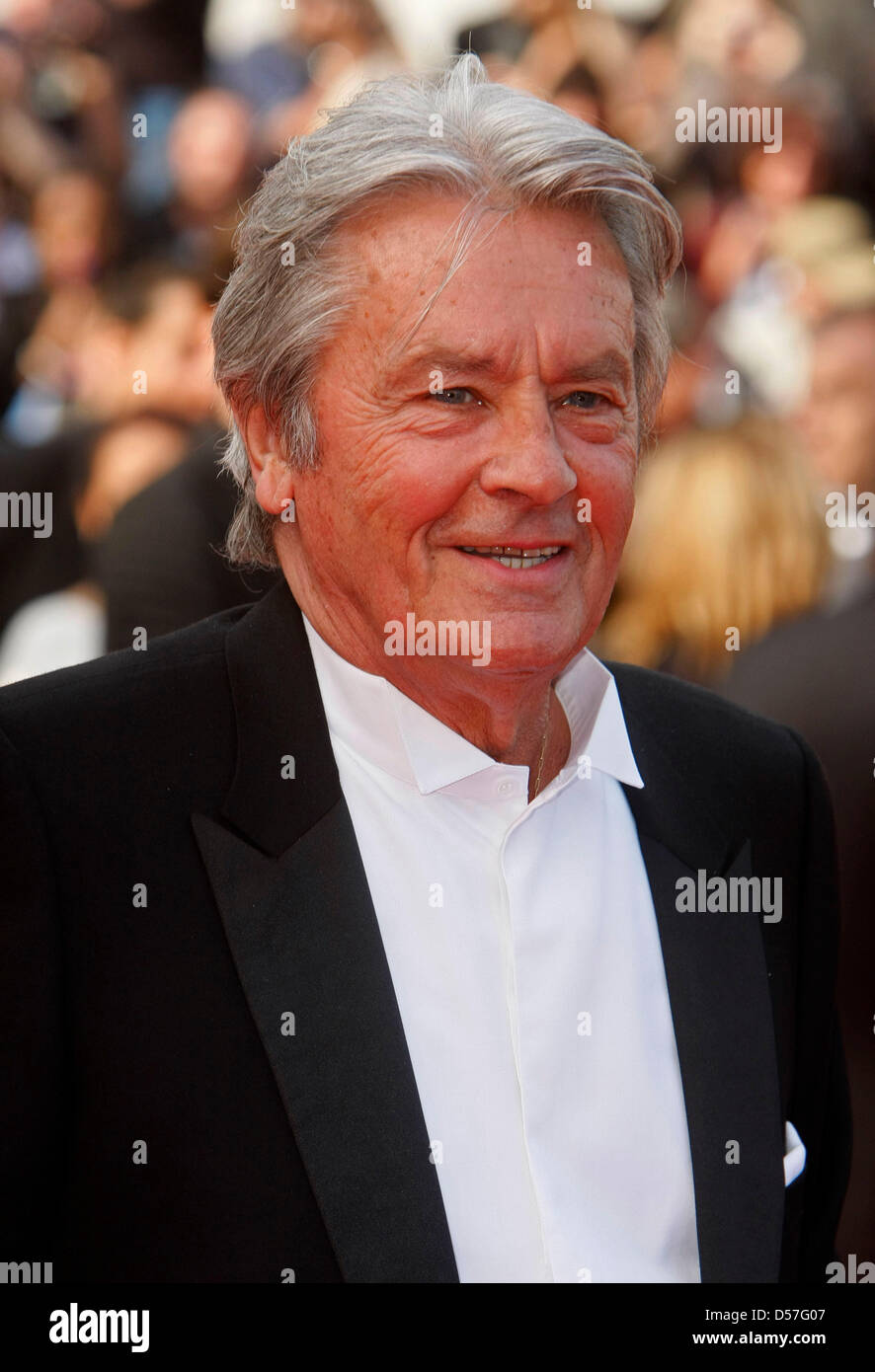 Alain In Delon French Stockfotos & Actor French Actor