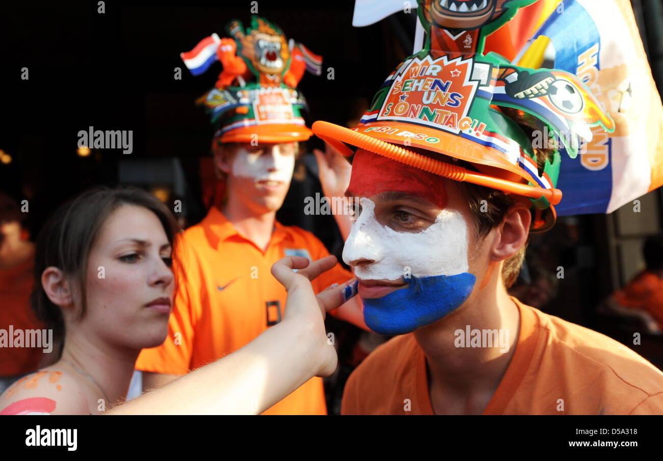 Ein holländisches Mädchen treffen