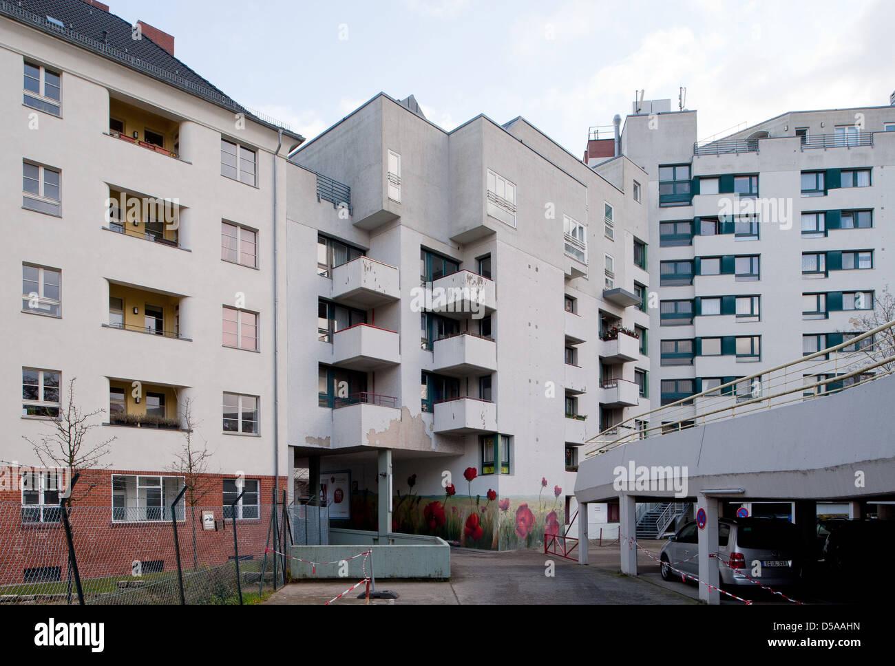 Berlin, Deutschland, Wohnprojekte in Berlin-Wedding ...