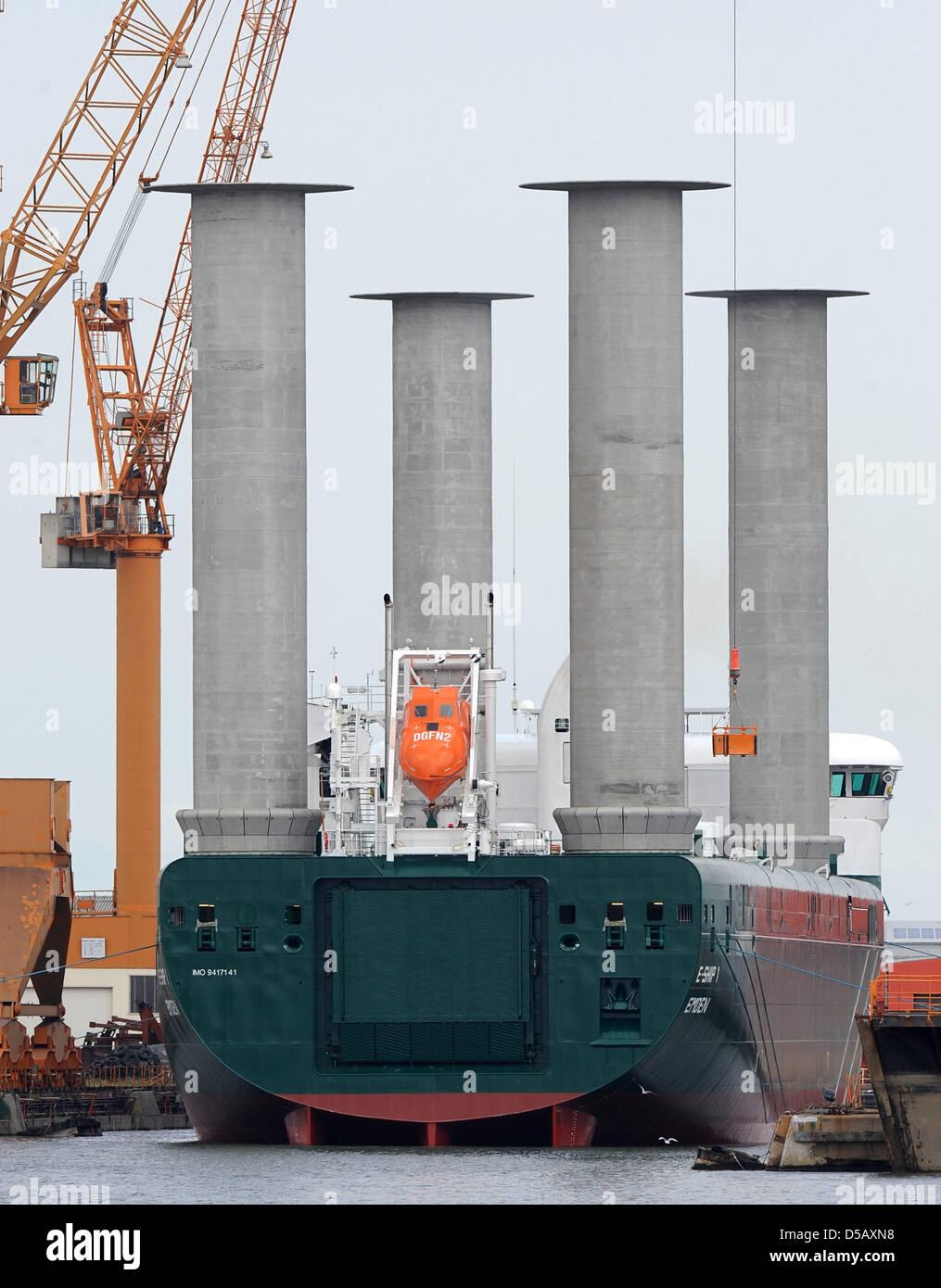 Ein Neues Transportschiff Für Wind Energie Generatoren E Ship 1
