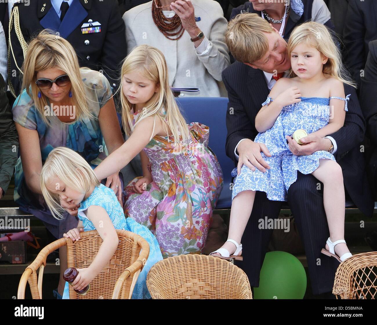 Prince Willem Alexander R Kronprinzessin Maxima L Und Ihre