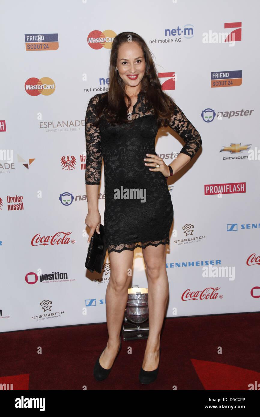 Heydi Nunez Gomez in der Musik trifft Medien-Event im
