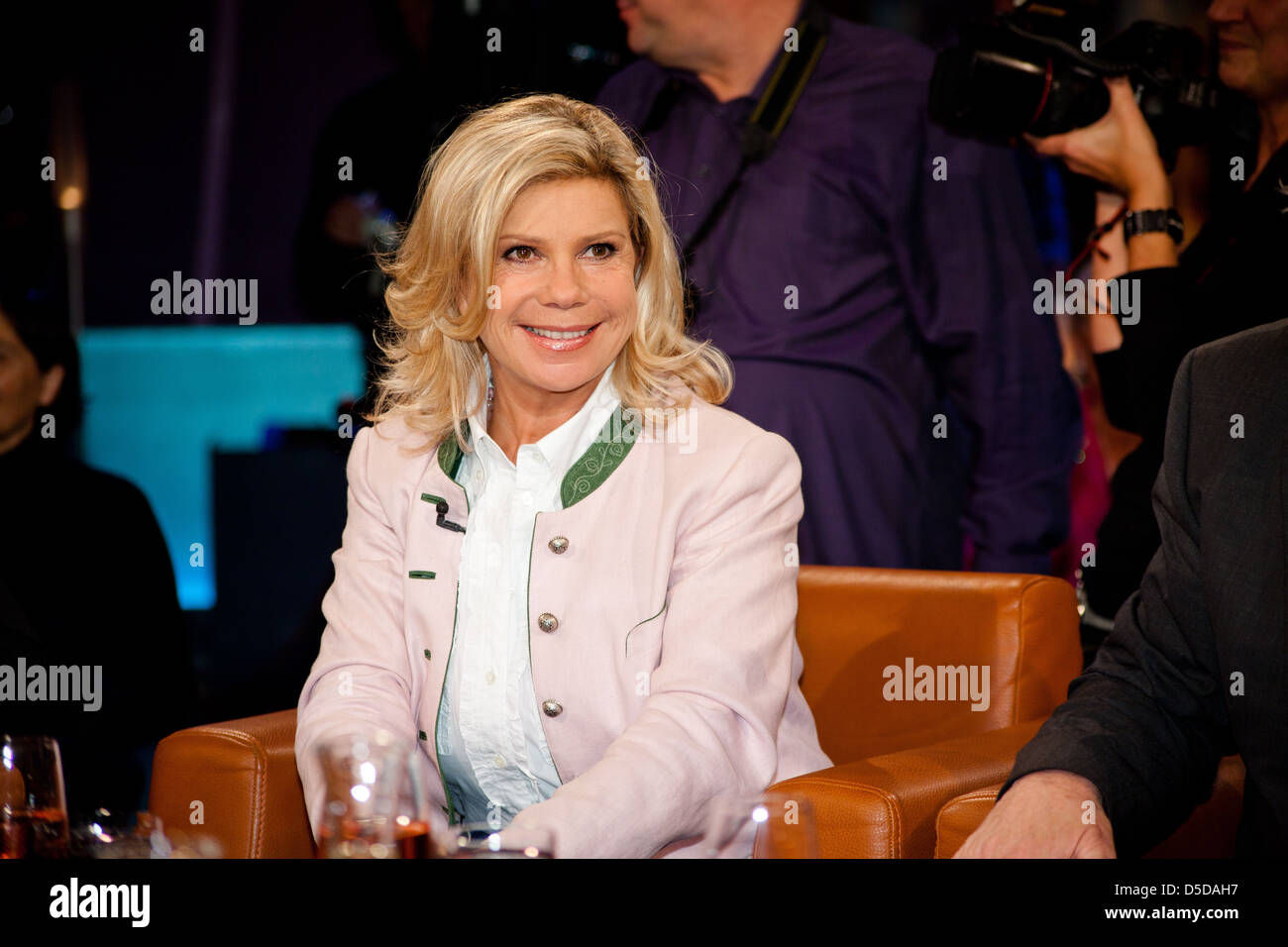 Marianne hartl stockfotos marianne hartl bilder alamy for Moderatoren ndr talkshow