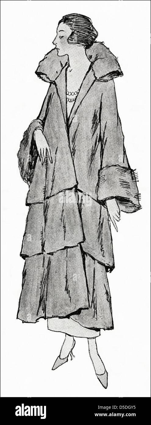 1923 Paris Von Mantel UnbekanntVolant Fashion Designer eCBodxrW