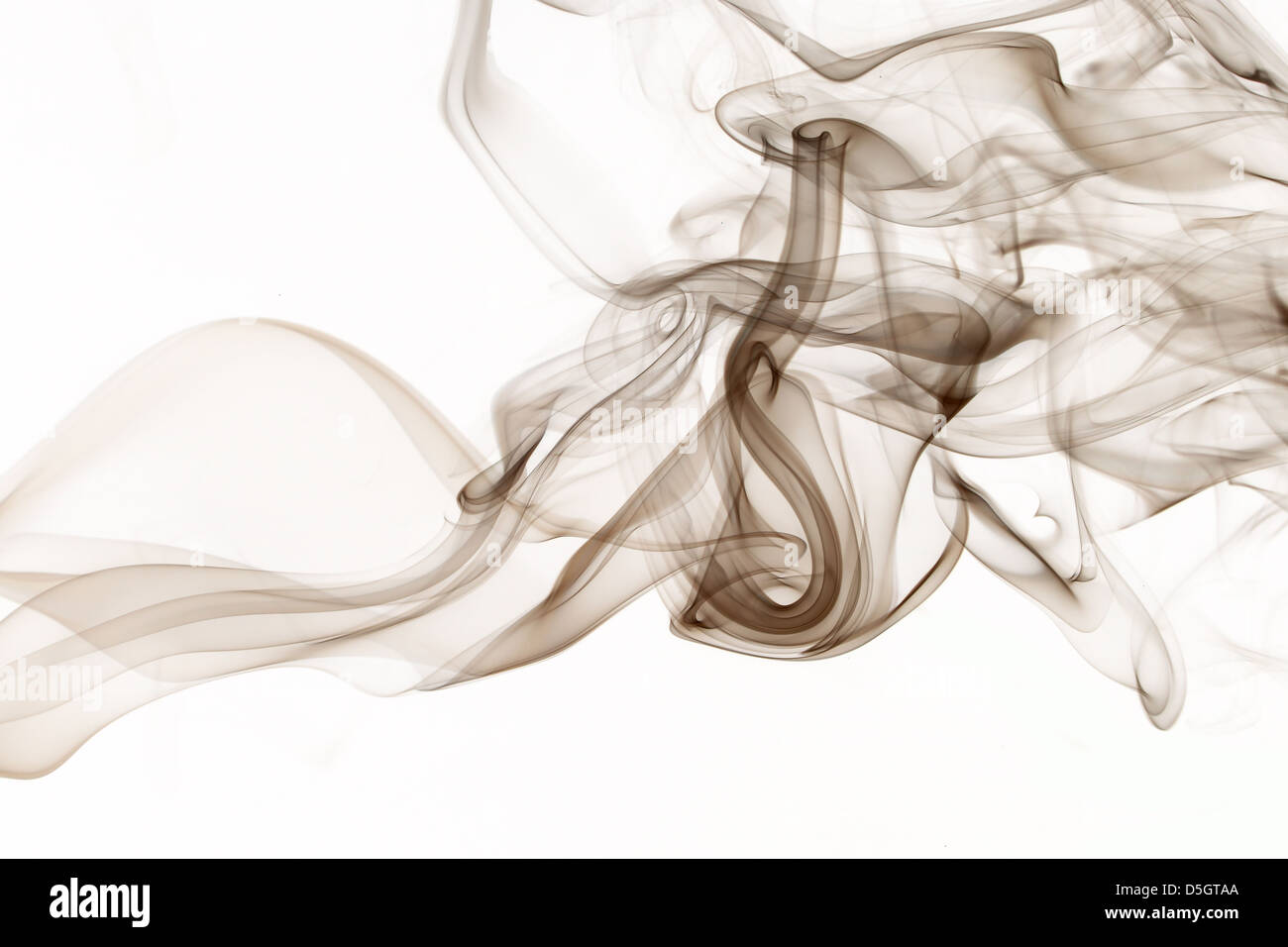 bunten Rauch Hintergründe Stockbild