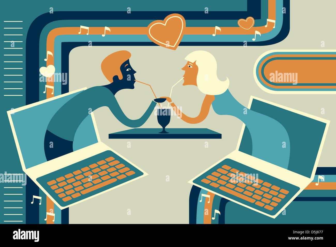 Minderjährige über das alter auf online-dating-sites liegen