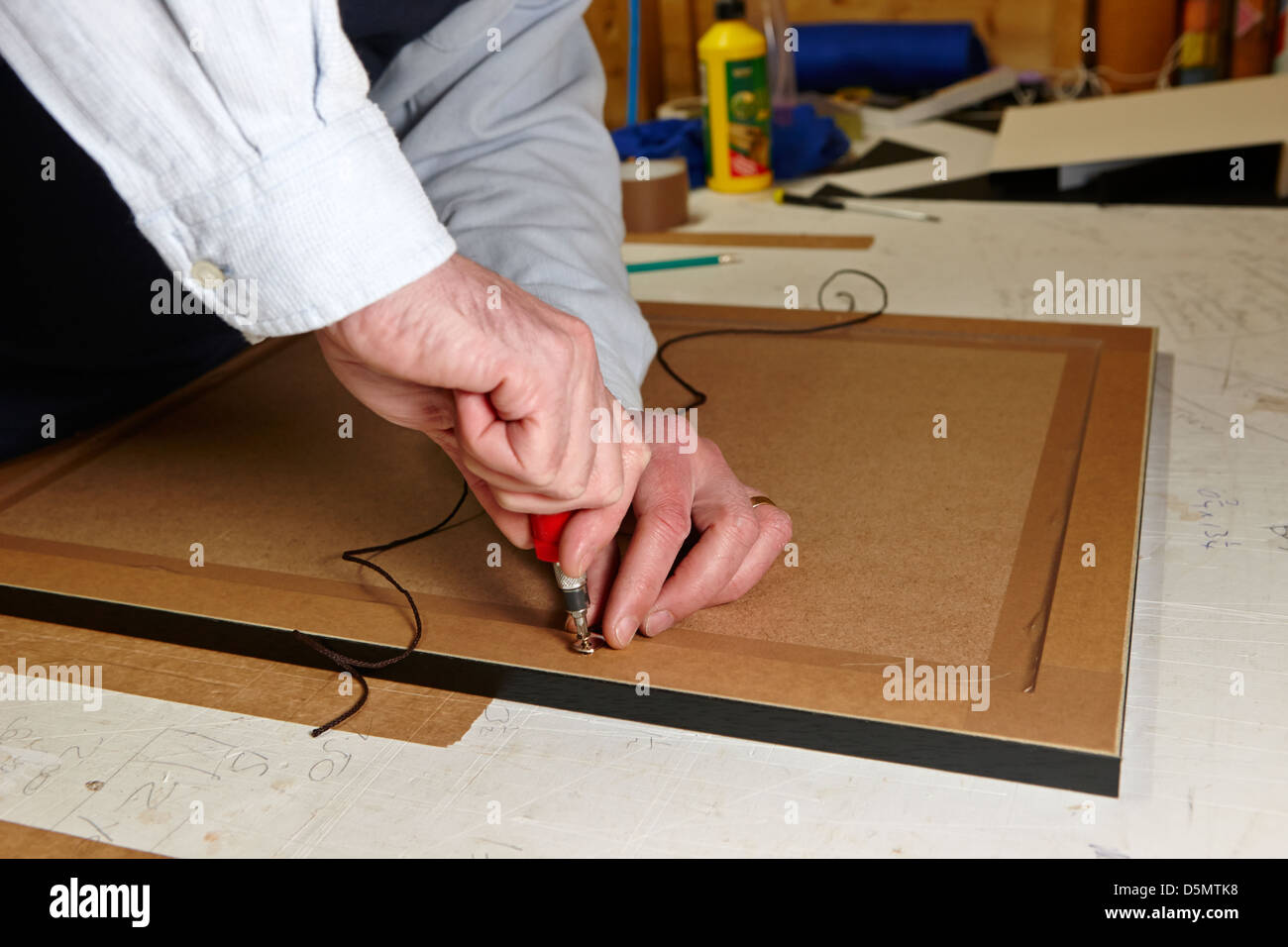 Framing A Picture Stockfotos & Framing A Picture Bilder - Alamy