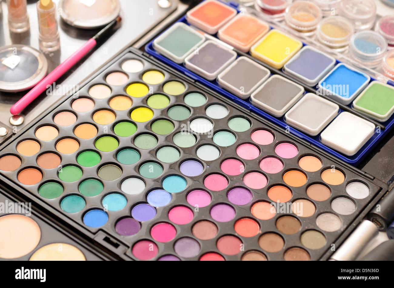 Make-up-Palette Stockbild