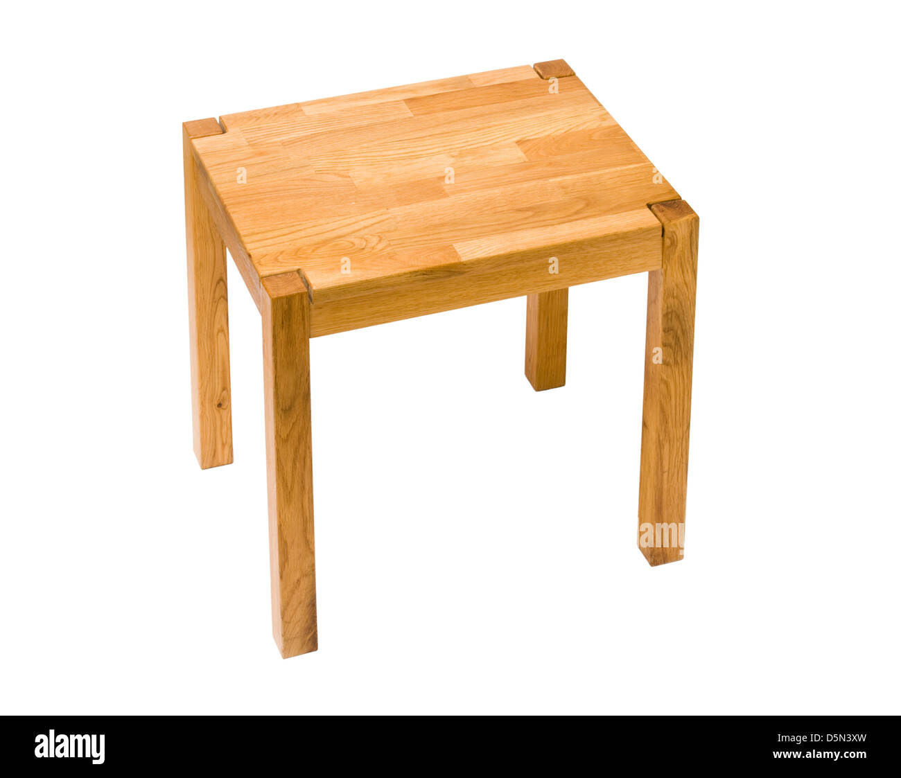 Kleiner Tisch. Stockbild