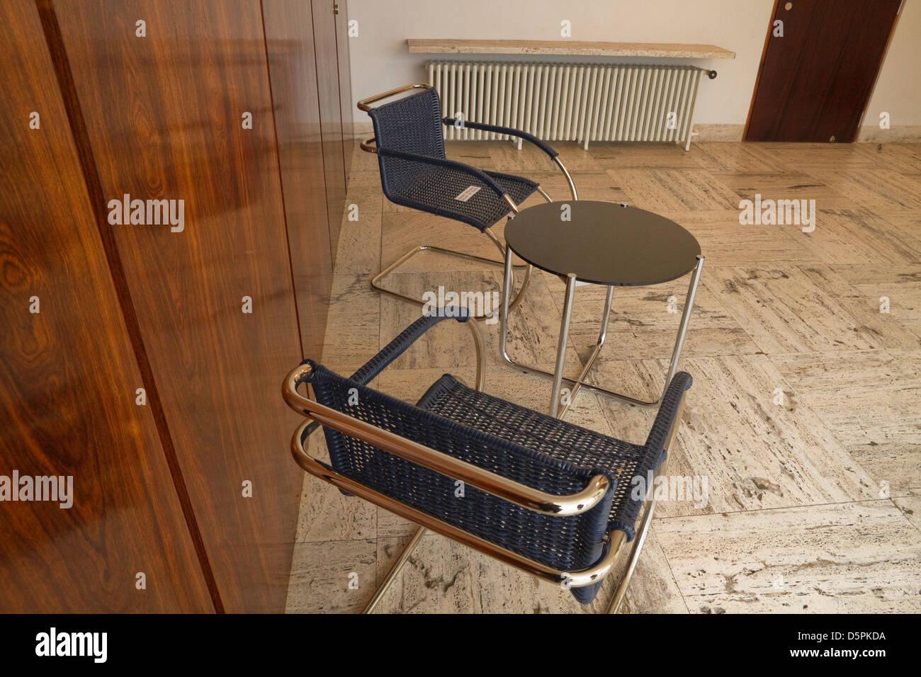 Villa Tugendhat Mies Van Der Rohe Möbel In Der Halle