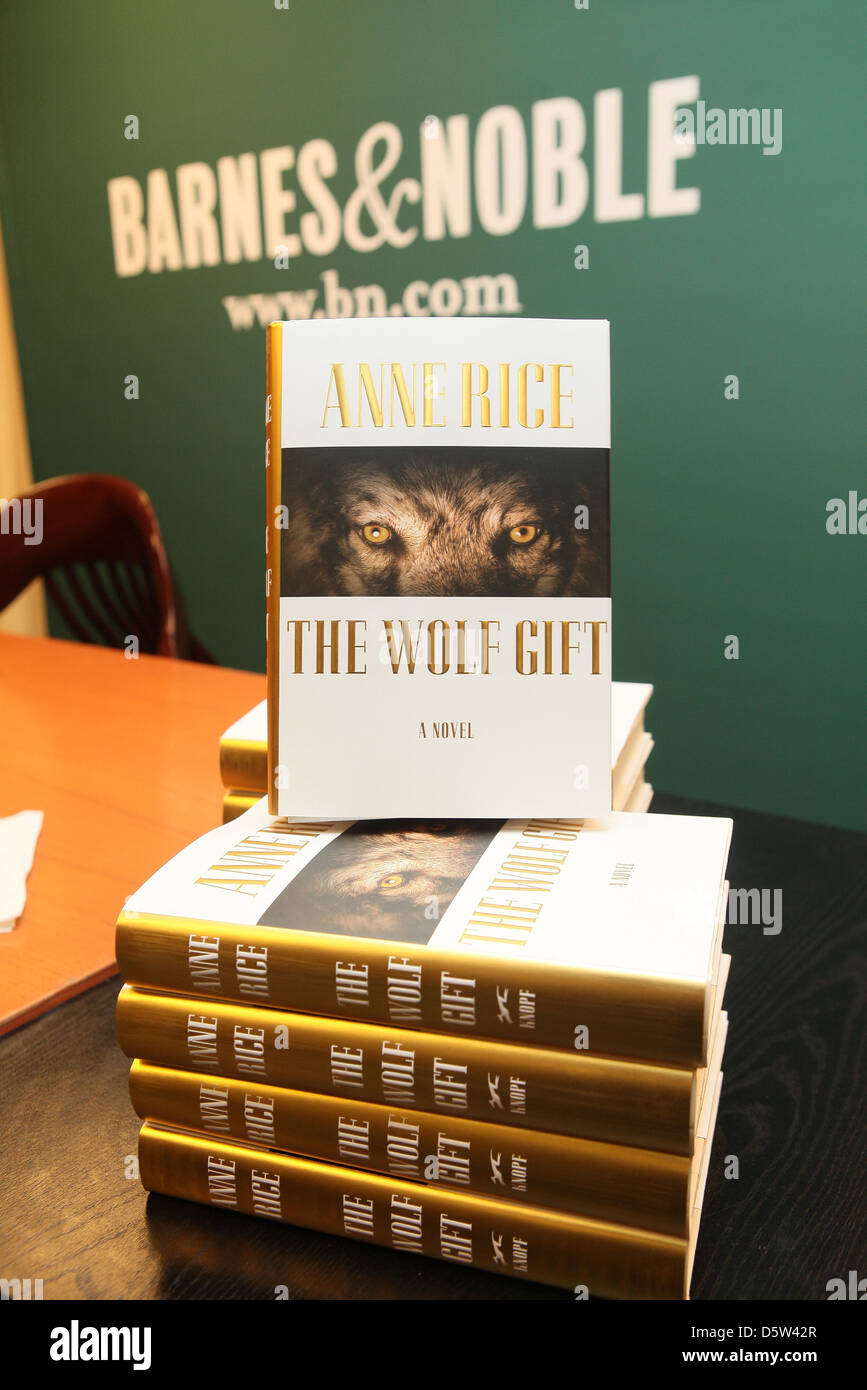 Anne Rice Atmosphare Fordert The Wolf Geschenk Im Barnes Noble