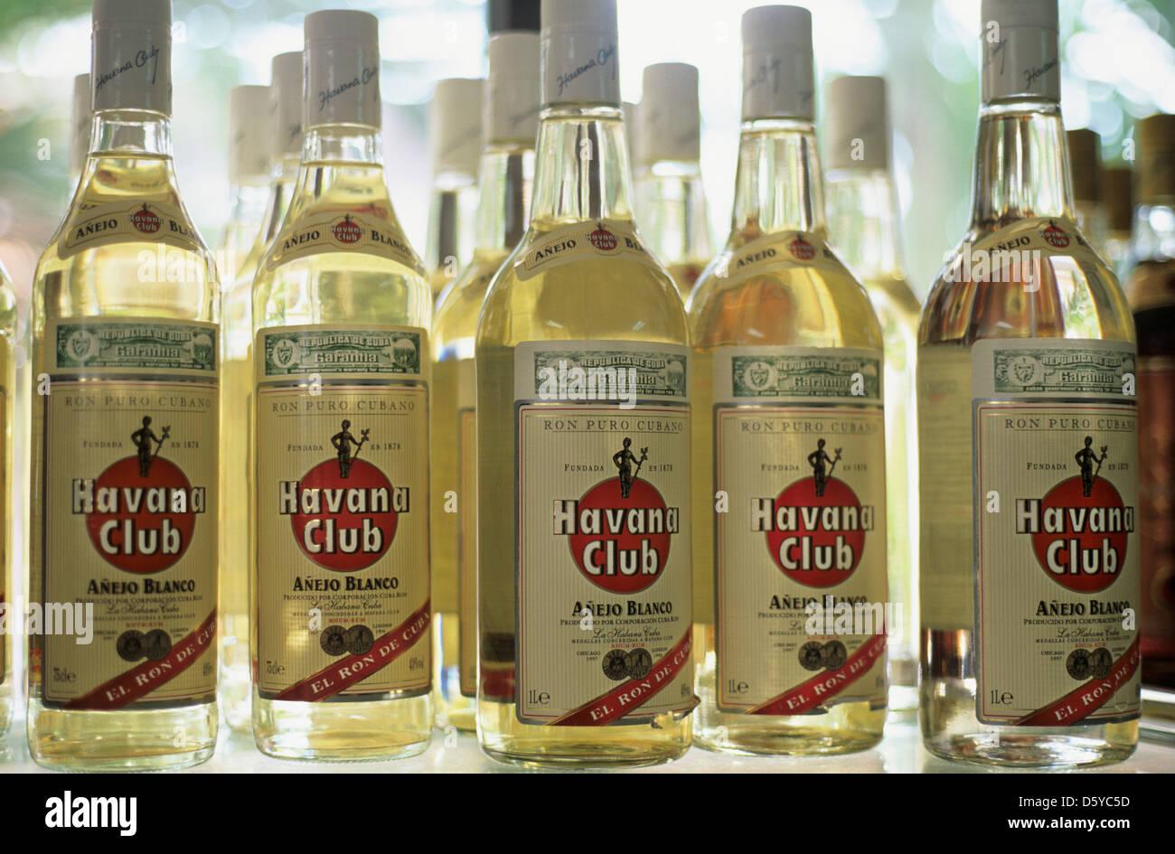 Havana Club Rum Stockbild