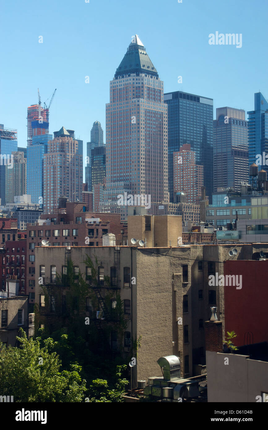 Hells Kitchen New York Stockfotos & Hells Kitchen New York Bilder ...