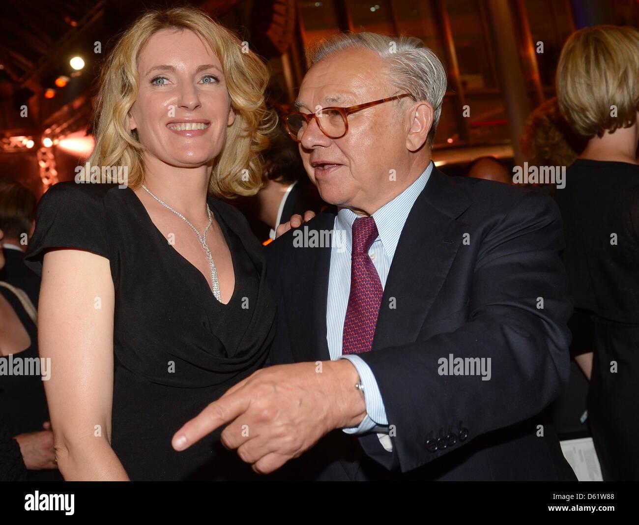 Deutsche Schauspielerin Maria Furtwaengler und ihr Ehemann, Verleger ...