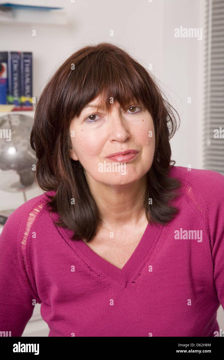 Janet Straße - Porter, englische Medien Persönlichkeit, Journalist und Sender im Büro für die Stockbild