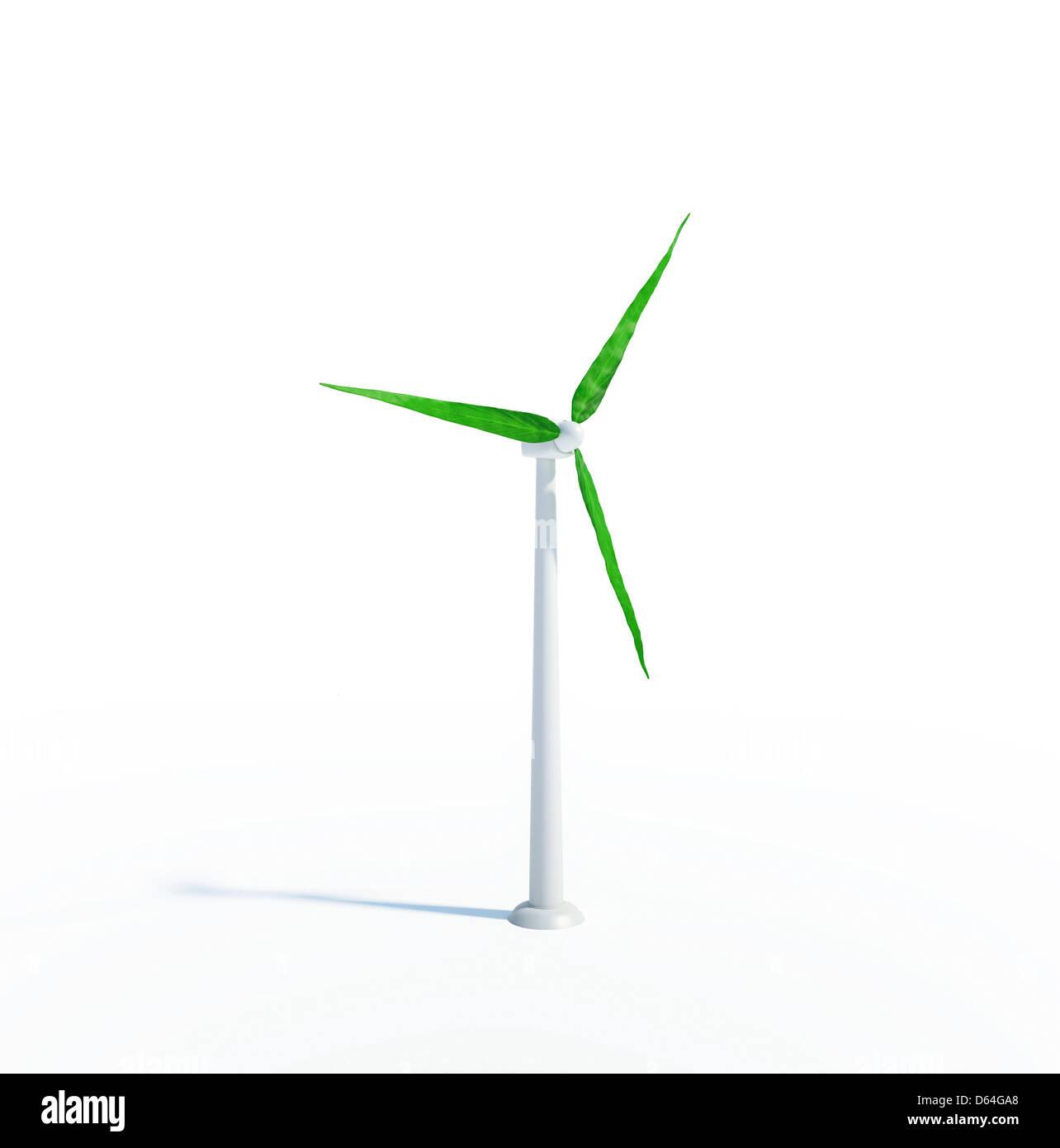 Grüne Energie, konzeptuellen Kunstwerk Stockbild