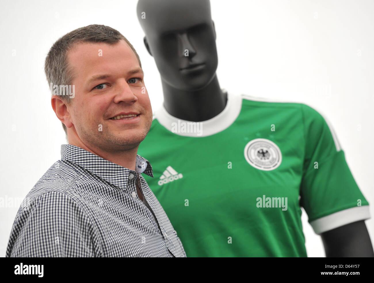 Bjoern Jaeger, Chef Designer von Fußballtrikots bei Adidas