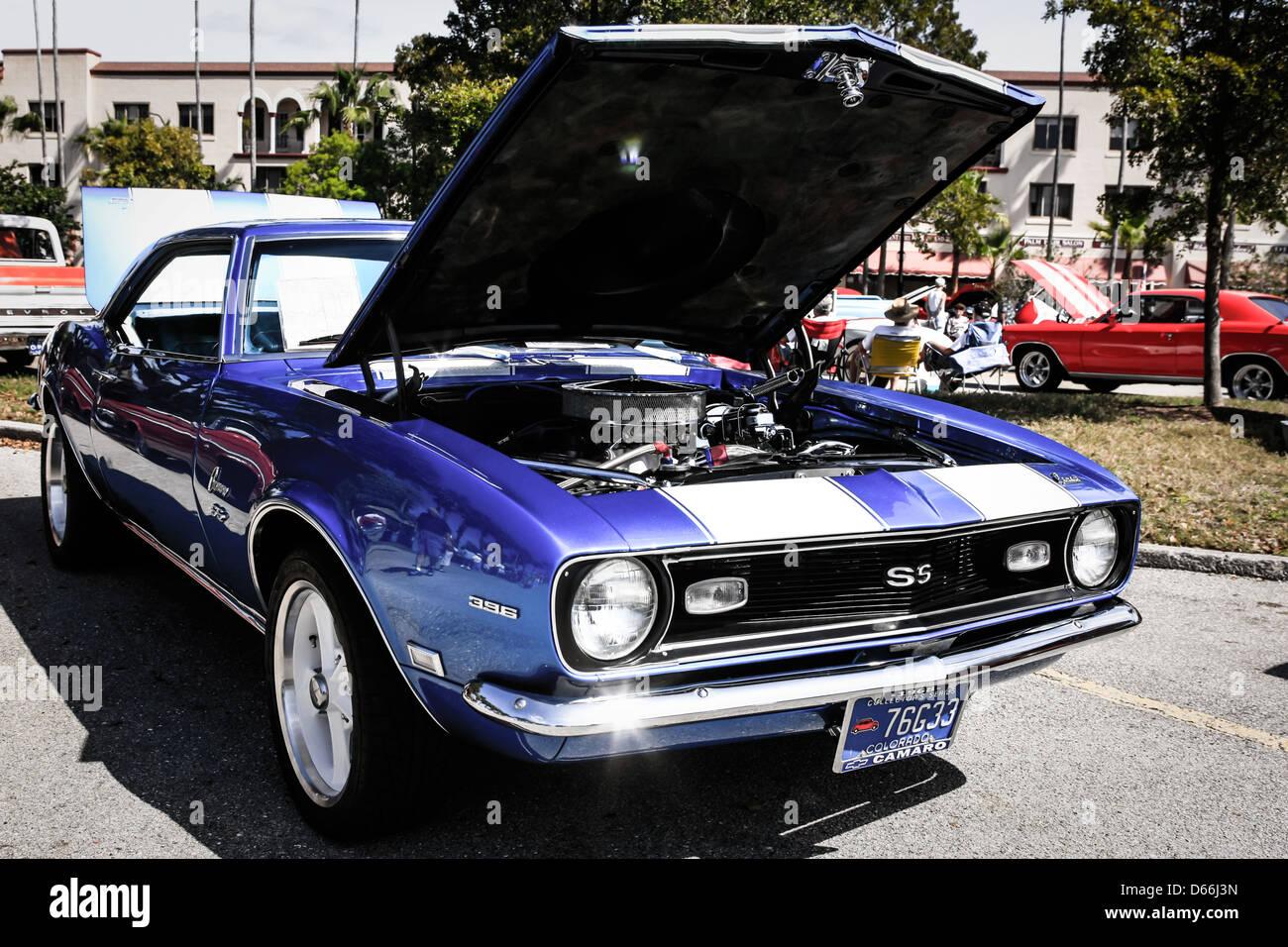1968 Chevrolet Chevy Camaro Ss Stockfoto Bild 55464969 Alamy Ad