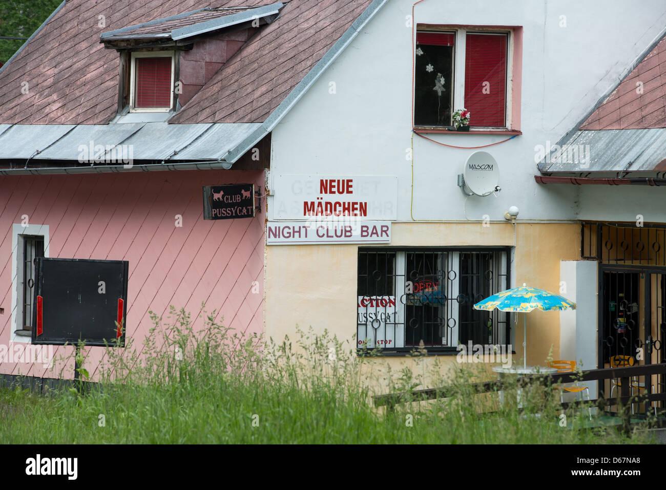 Tschechische grenze nightclub ARIDEA Club