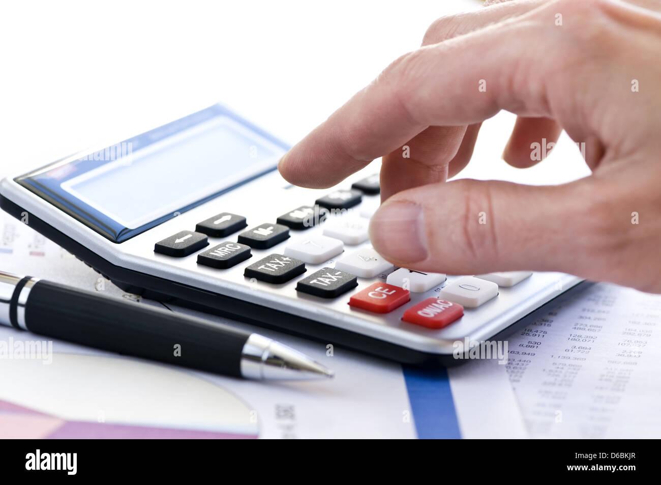 rechner berechnen berechnung kalkulation stockfoto bild 55575935 alamy. Black Bedroom Furniture Sets. Home Design Ideas