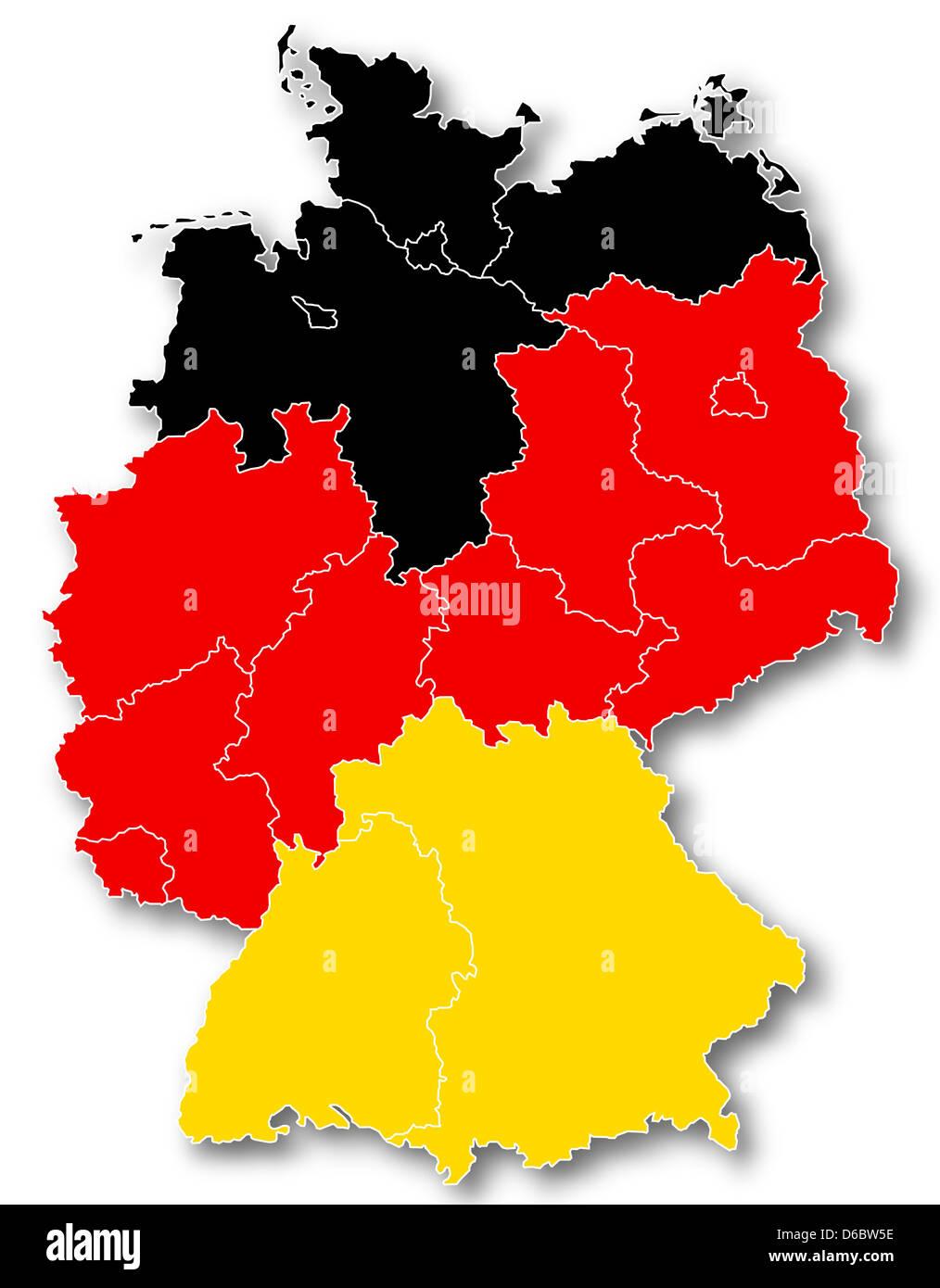 Deutschland Farben
