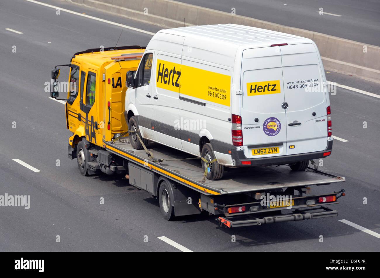 Hertz Car Rental Cargo Van