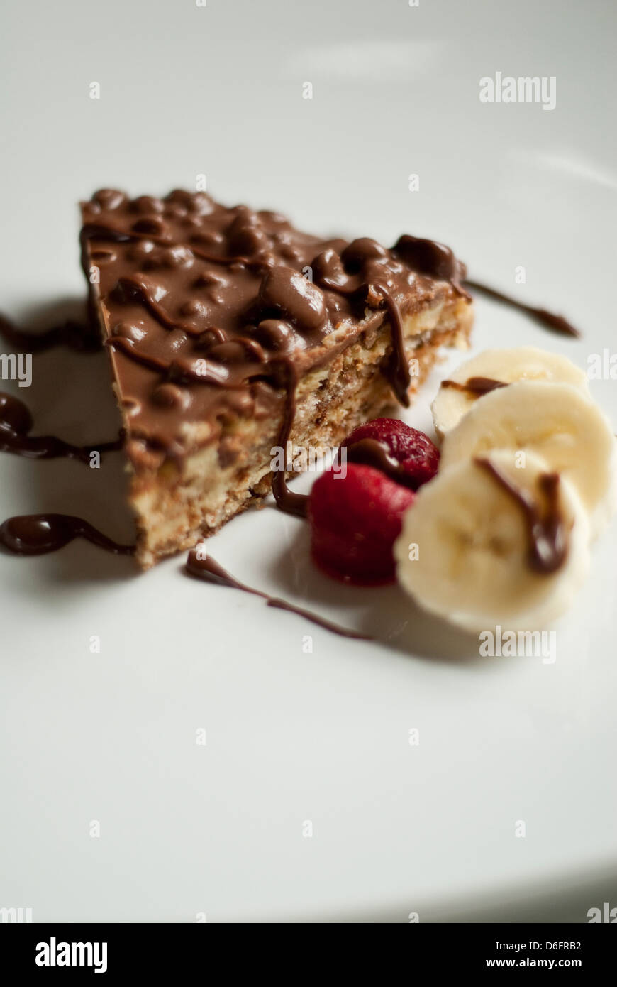 Daim Schokolade Kuchen Stockfoto Bild 55666662 Alamy