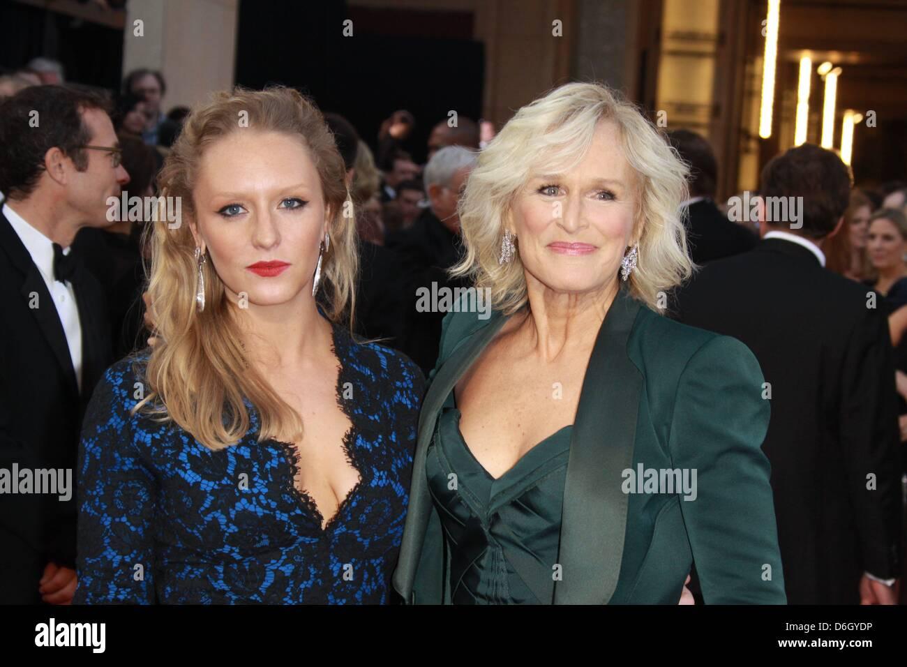 Us Schauspielerin Glenn Close Und Tochter Annie L Erreichen Die 84