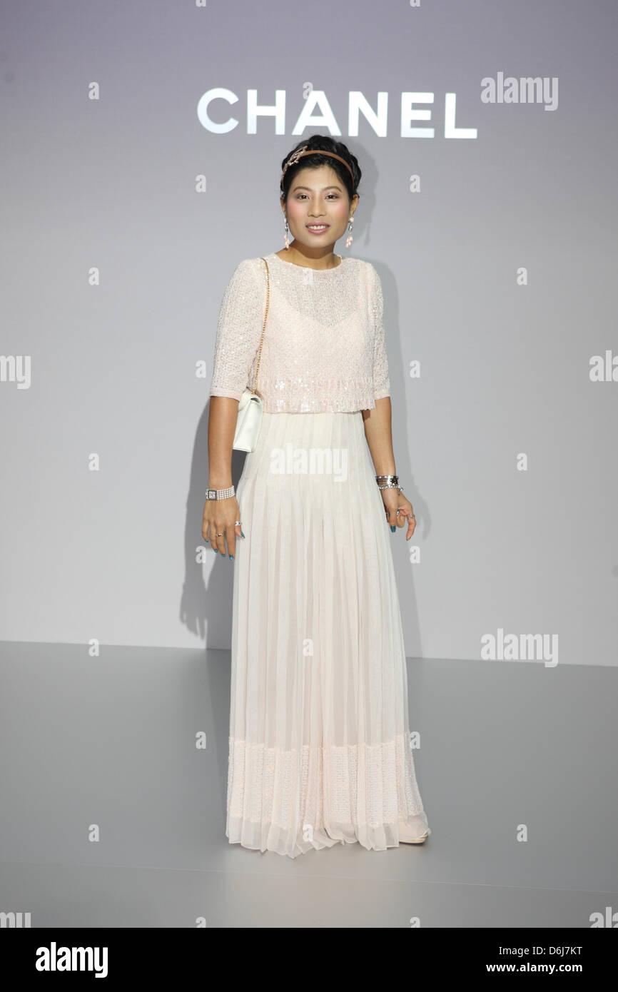 Chanel Fashion Show Stockfotos & Chanel Fashion Show Bilder - Alamy