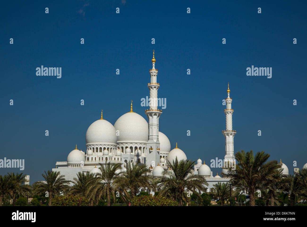 Abu Dhabi, Vereinigte Arabische Emirate, Naher Osten Stockfoto