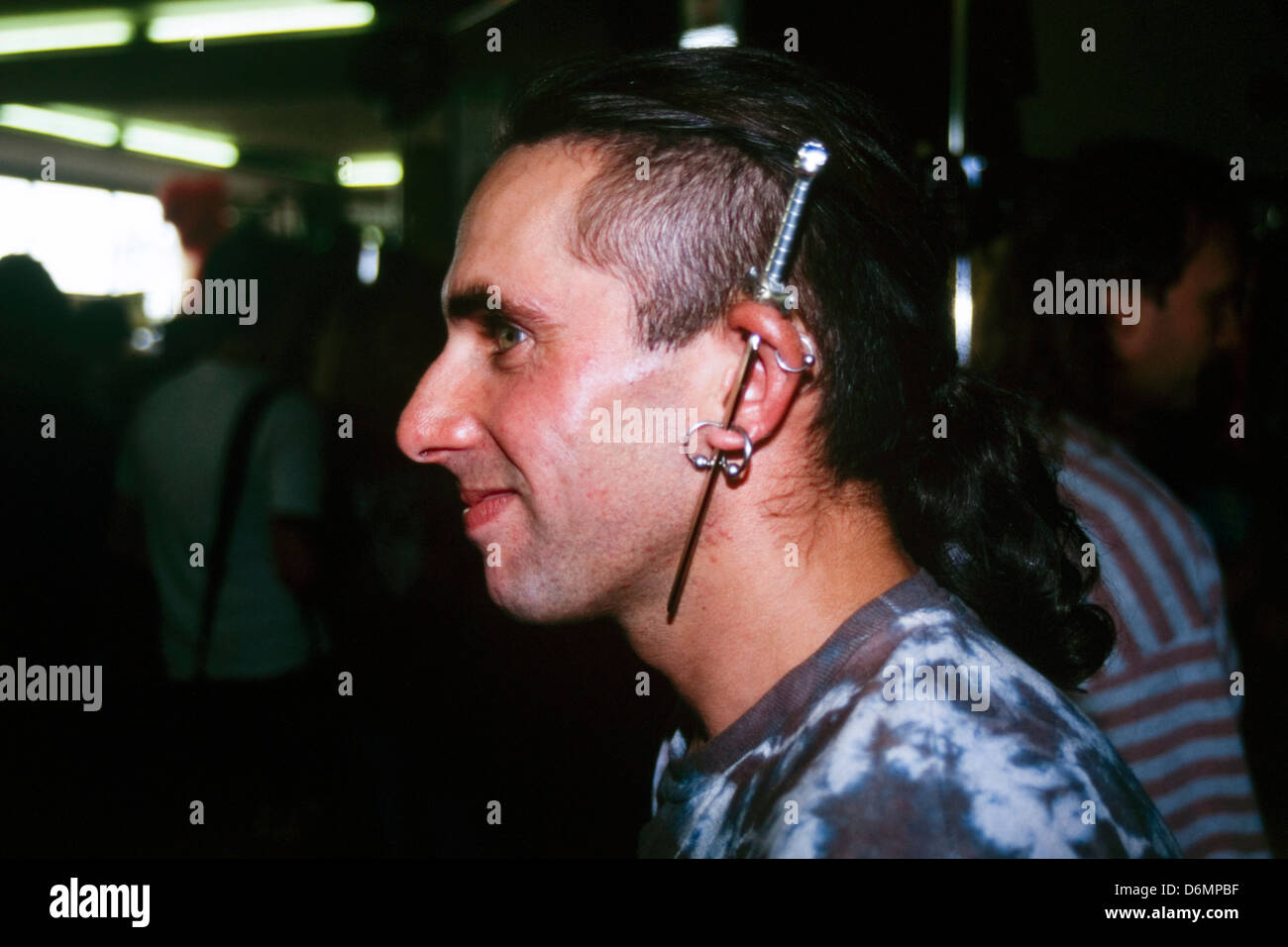 Stechen männer ohrloch Ohrringe für