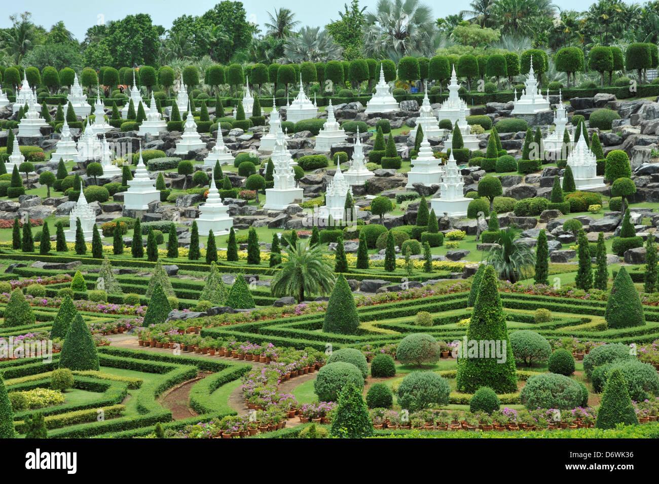 Thailand Chonburi Nong Nooch Garten Garten Landschaft Inspiriert