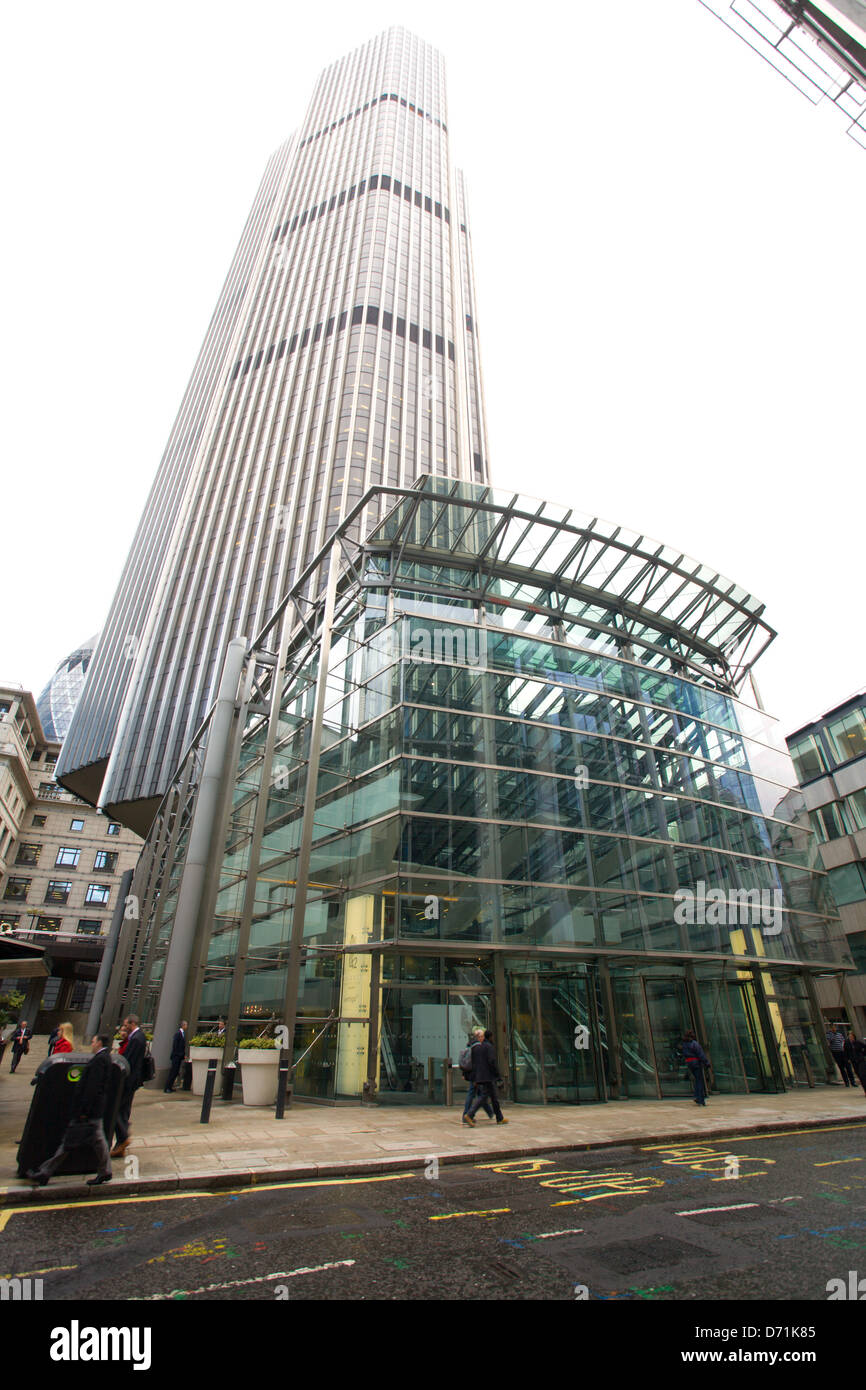 Tower 42, Old Broad Street, London Stockbild