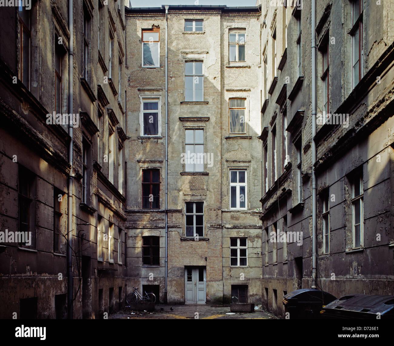 Berlin Deutschland Im Hinterhof Der Spandauer Vorstadt