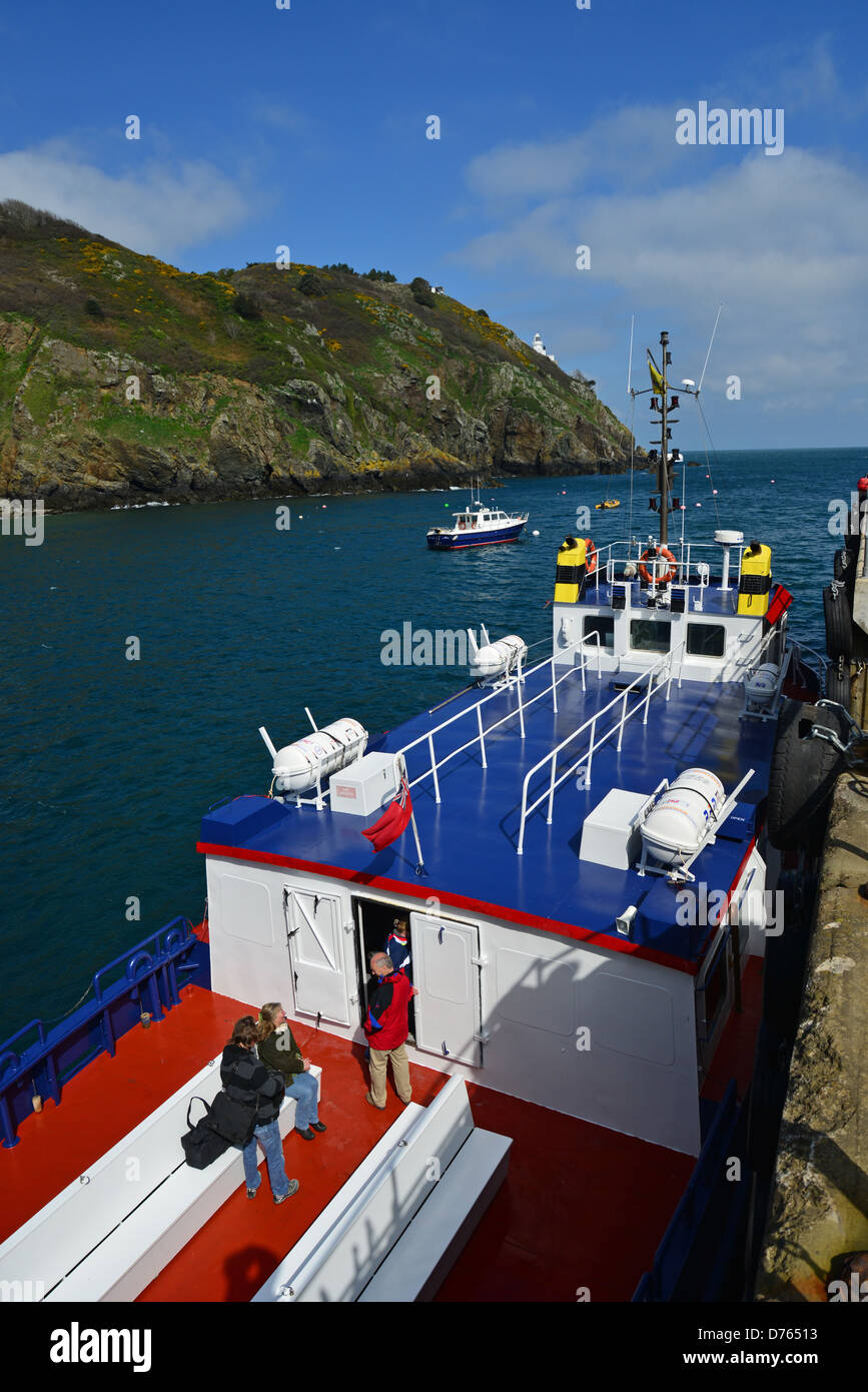 Ferry To Guernsey Island