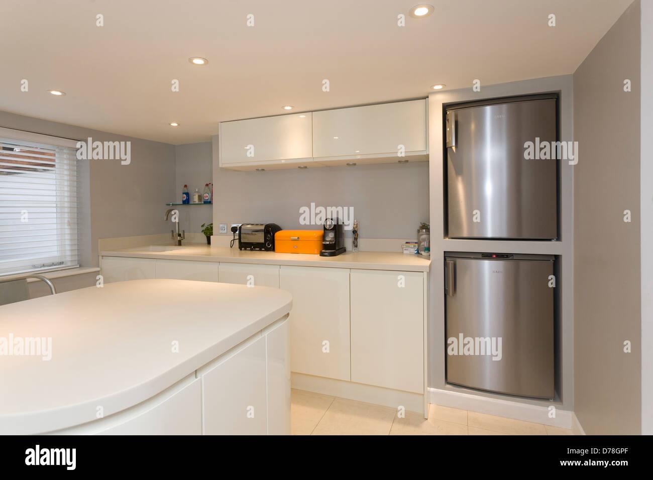 Moderne Keller Küche Stockfoto, Bild: 56122487 - Alamy